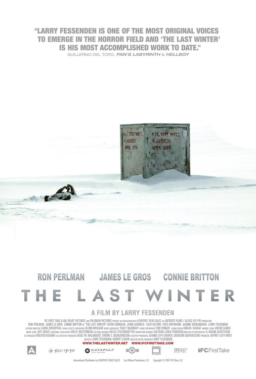 The Last Winter Poster #1