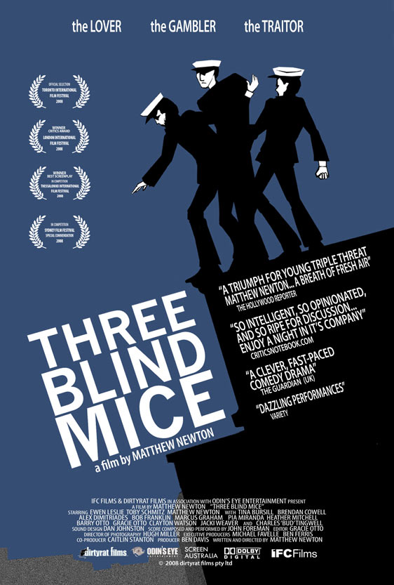 Three Blind Mice Poster #1
