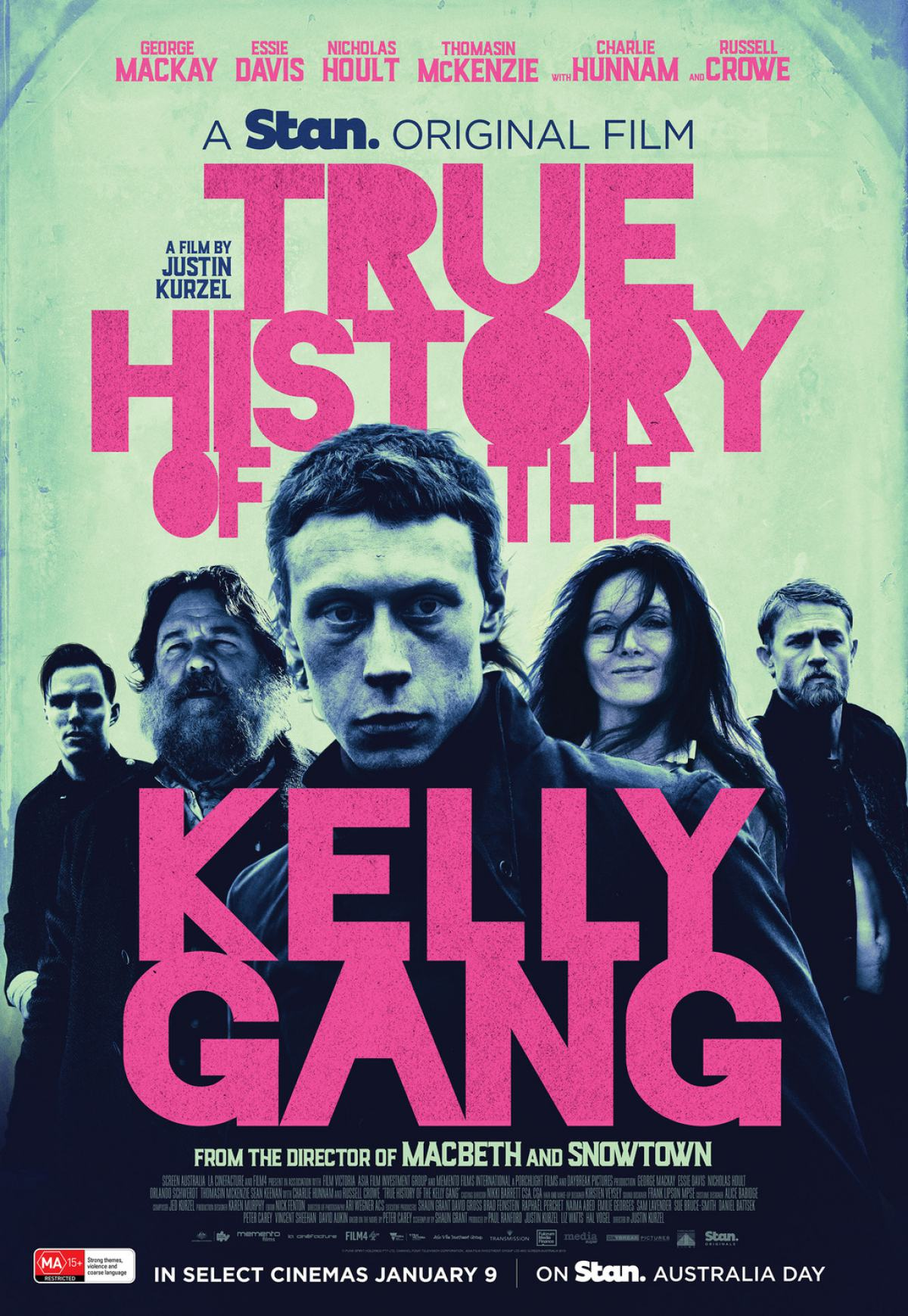 True History of the Kelly Gang Poster #1