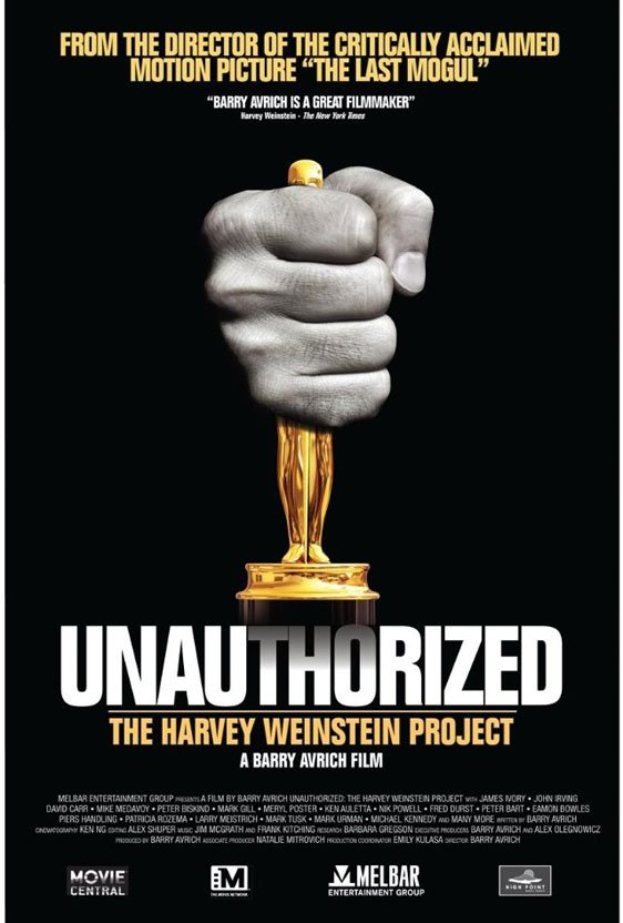 Unauthorized: The Harvey Weinstein Project Poster #1