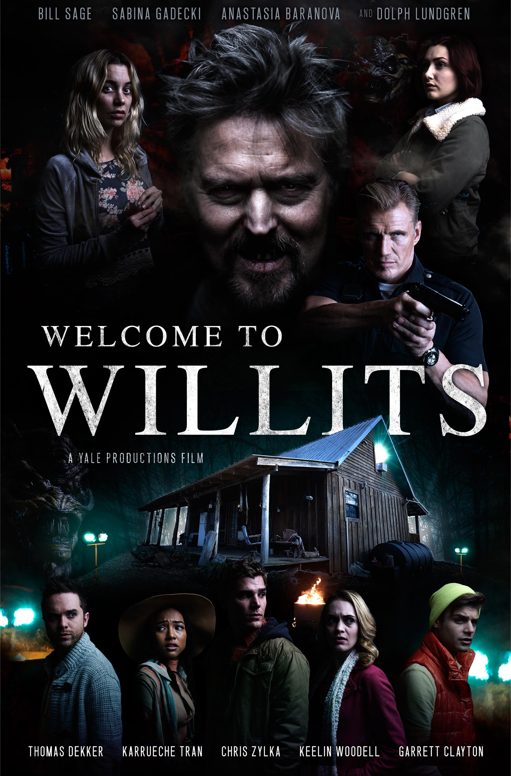 Welcome to Willits Poster #1