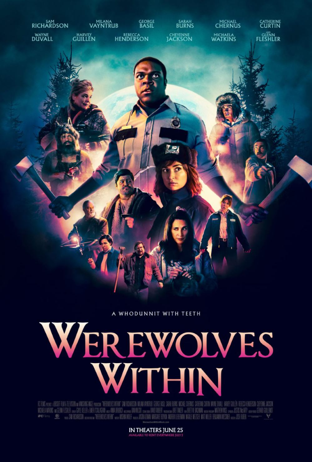 Werewolves Within Poster #1