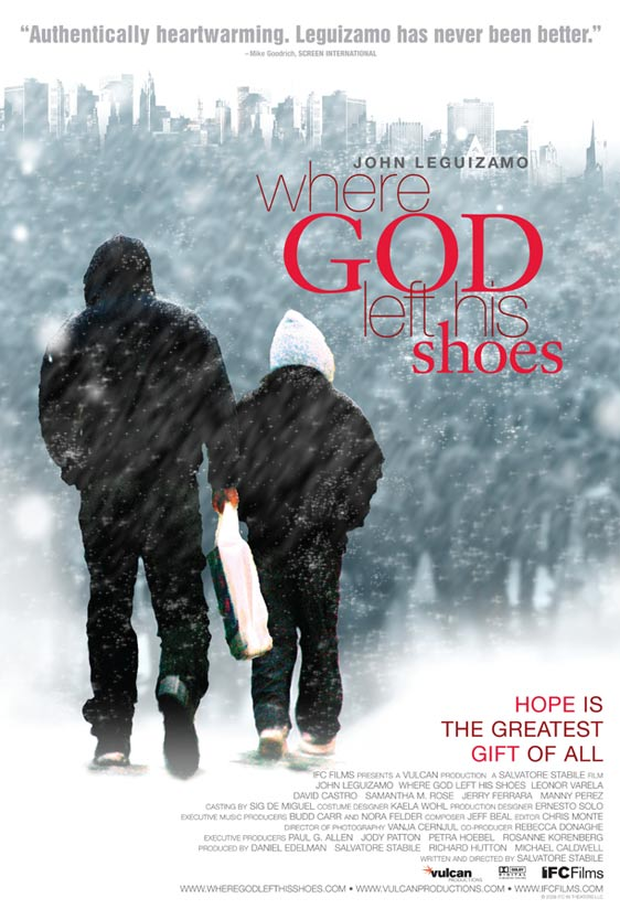Where God Left His Shoes Poster #1