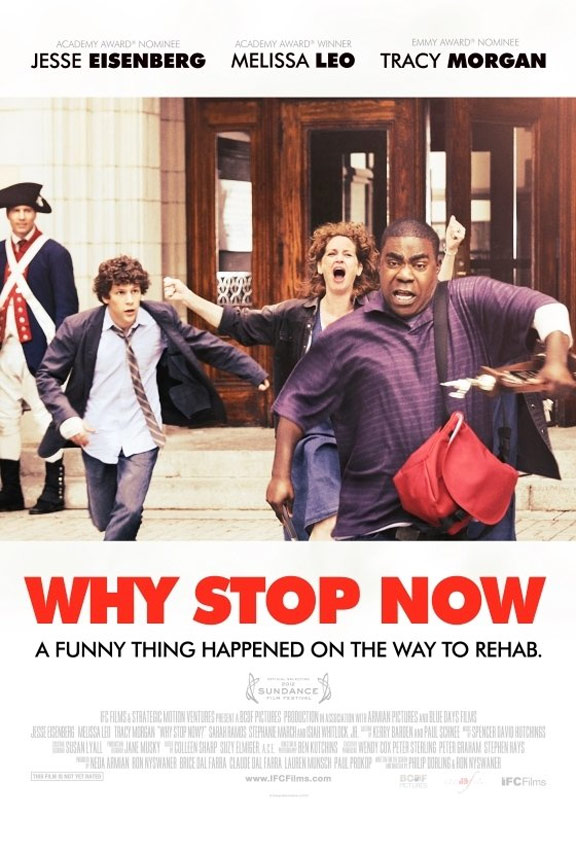 Why Stop Now Poster #1