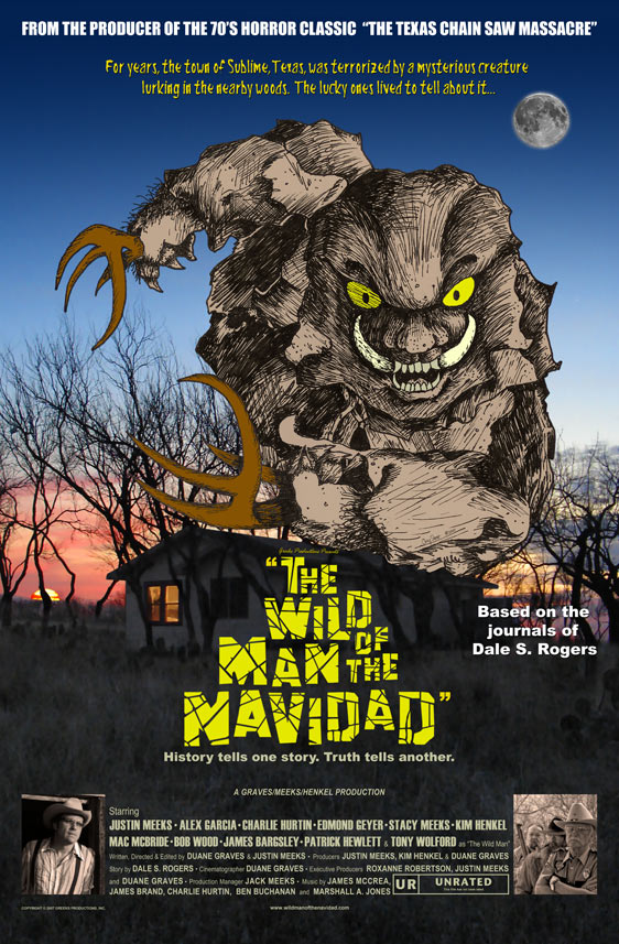 The Wild Man of the Navidad Poster #1