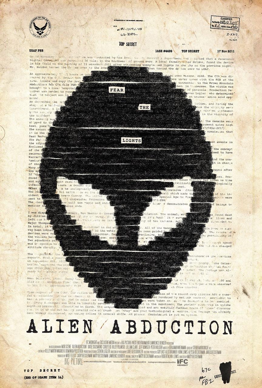 Alien Abduction Poster #1