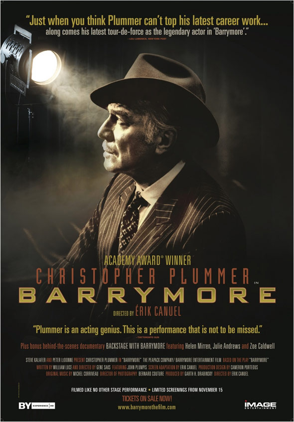 Barrymore Poster #1