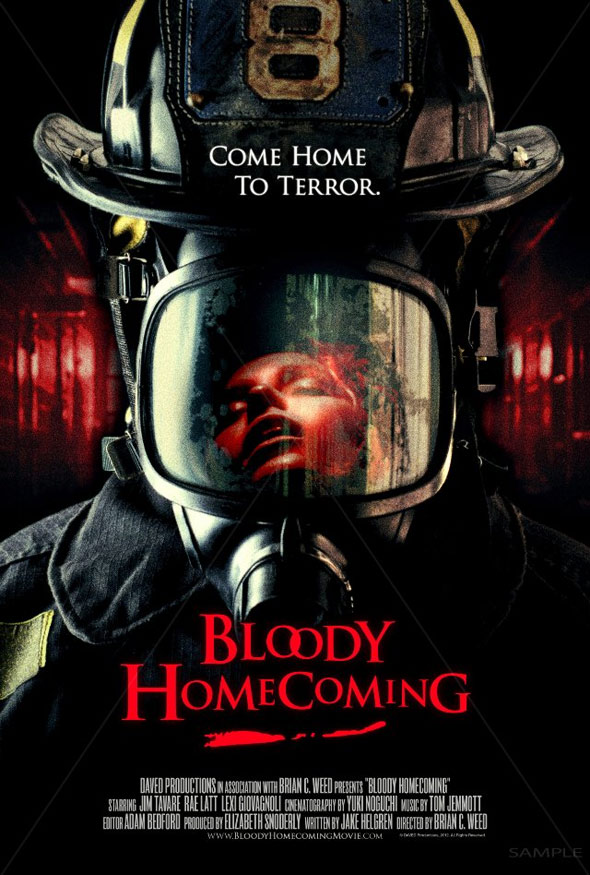 Bloody Homecoming Poster #1