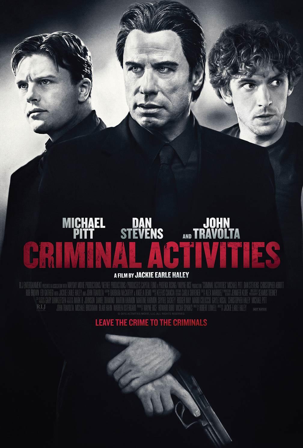 Criminal Activities Poster #1