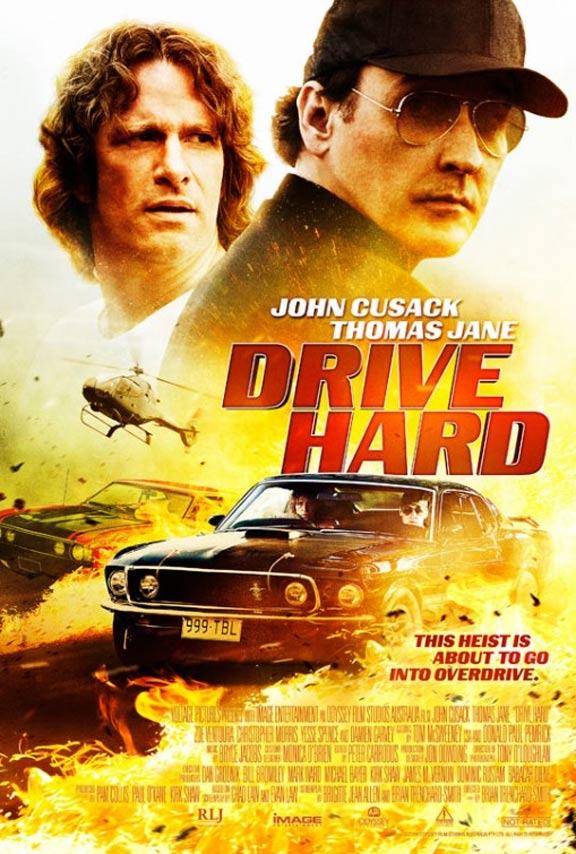 Drive Hard Poster #1