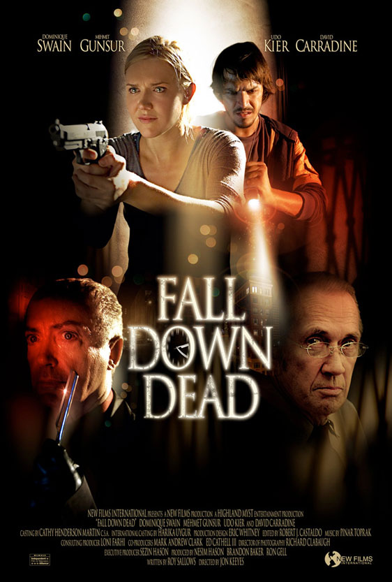Fall Down Dead Poster #1