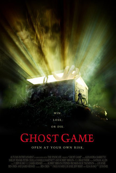 Ghost Game Poster #1
