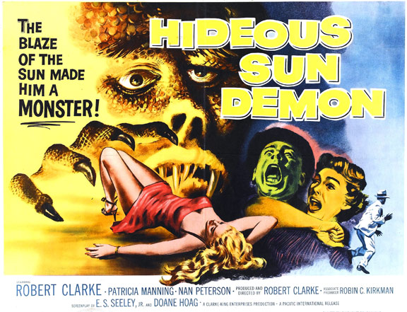 The Hideous Sun Demon Poster #2