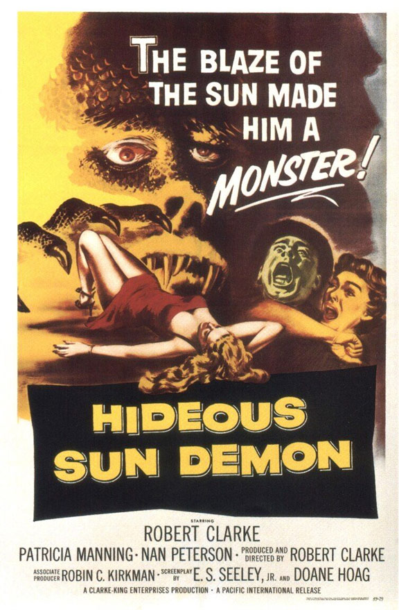 The Hideous Sun Demon Poster #1
