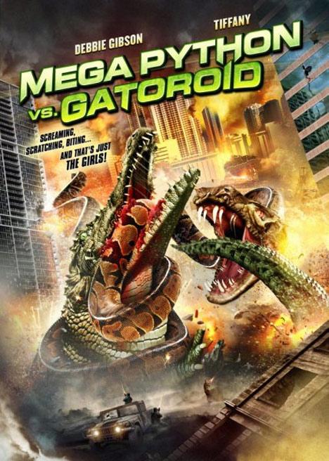 Mega Python vs. Gatoroid Poster #1