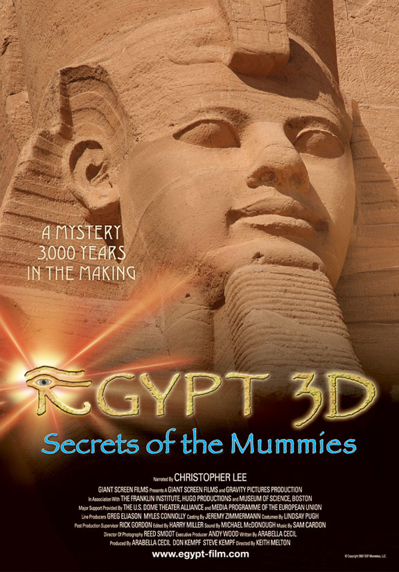 Mummies: Secrets of the Pharaohs Poster #1
