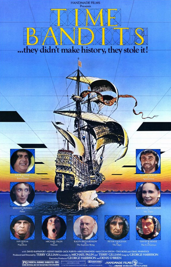 Time Bandits Poster #1