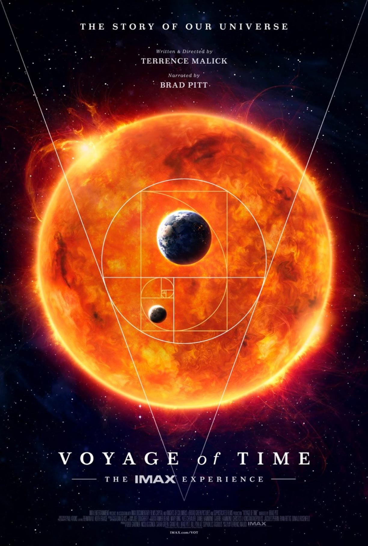 Voyage of Time Poster #1