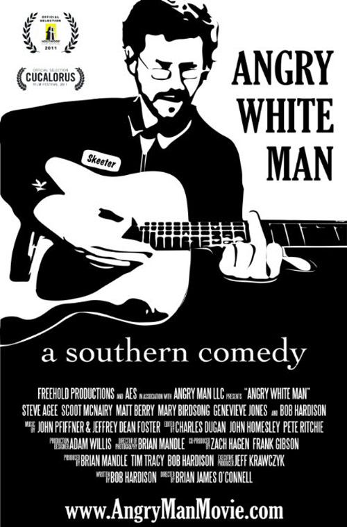 Angry White Man Poster #1