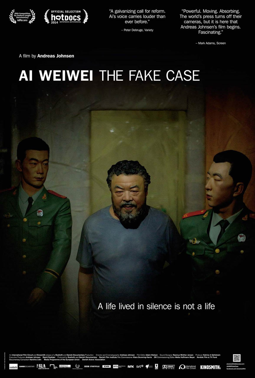 Ai Weiwei: The Fake Case Poster #1