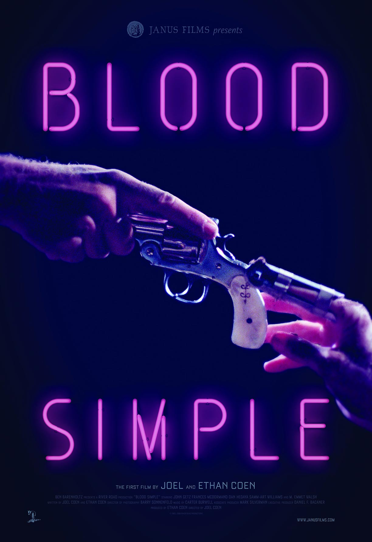 Blood Simple Poster #1