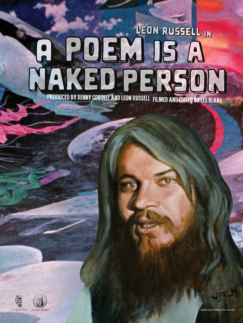 A Poem Is a Naked Person Poster #1