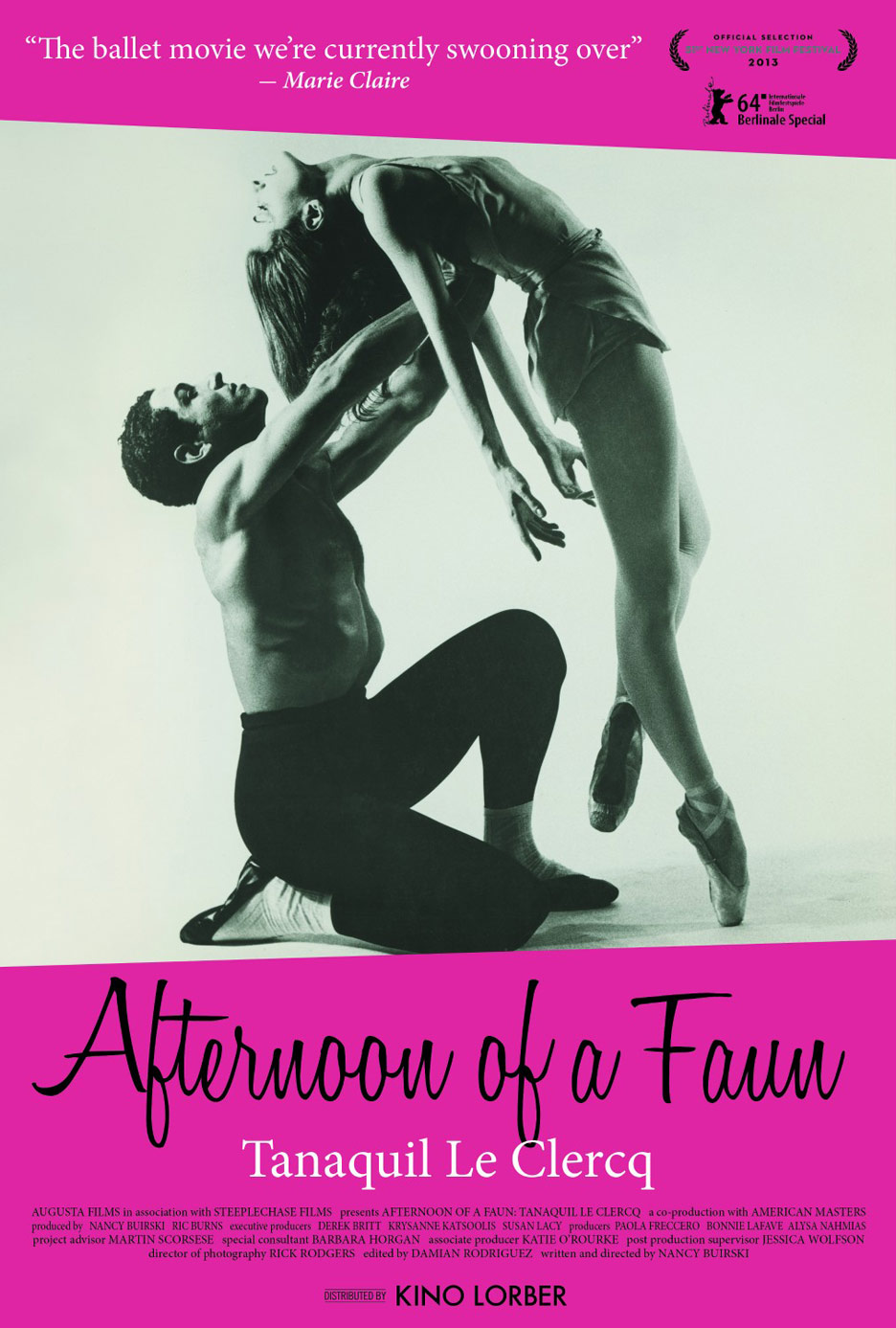 Afternoon of a Faun: Tanaquil Le Clercq Poster #1