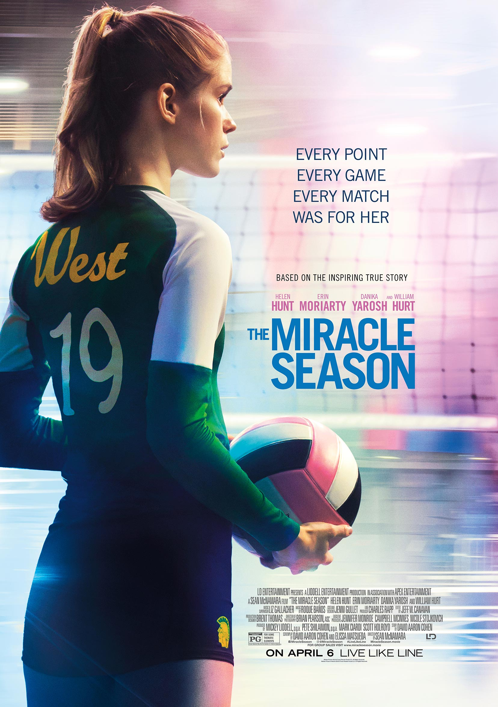 The Miracle Season Poster #2