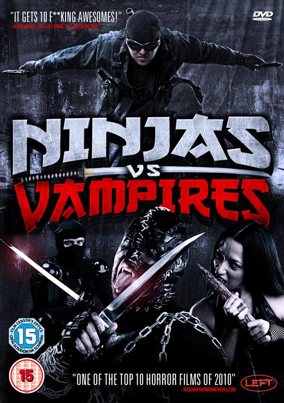 Ninjas vs. Vampires Poster #1