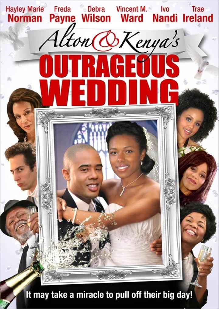 Alton & Kenya's Outrageous Wedding Poster #1