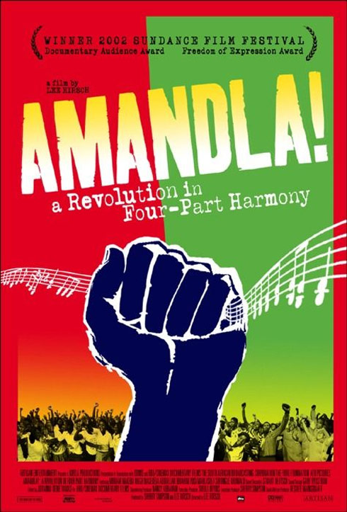 Amandla! A Revolution in Four Part Harmony Poster #1