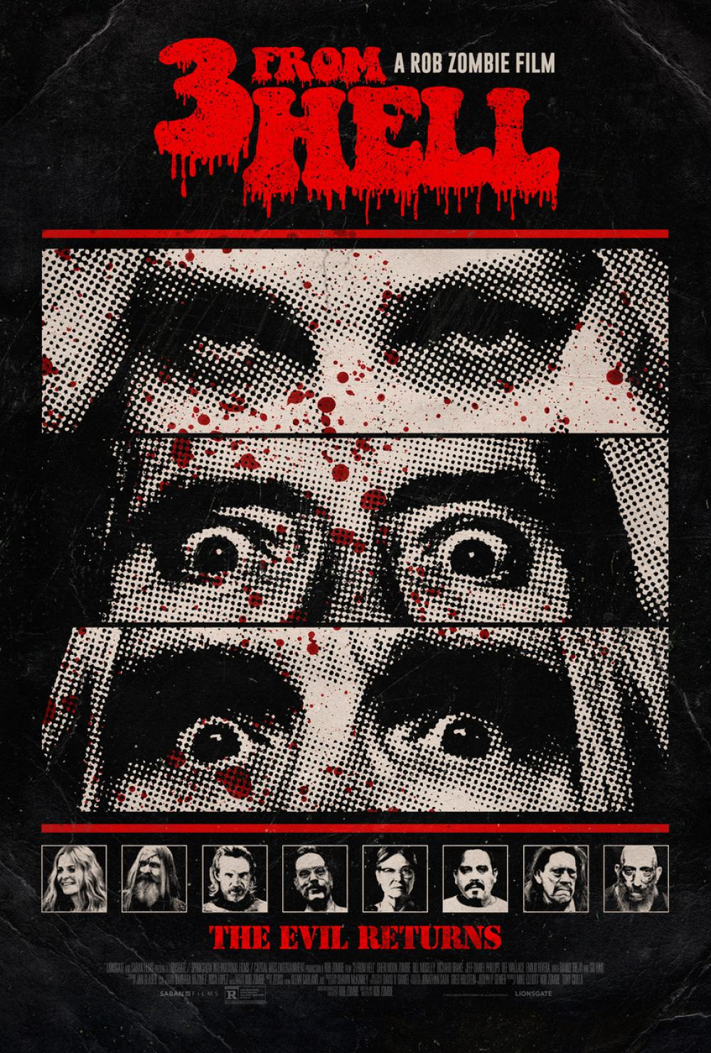 3 from Hell Poster #1