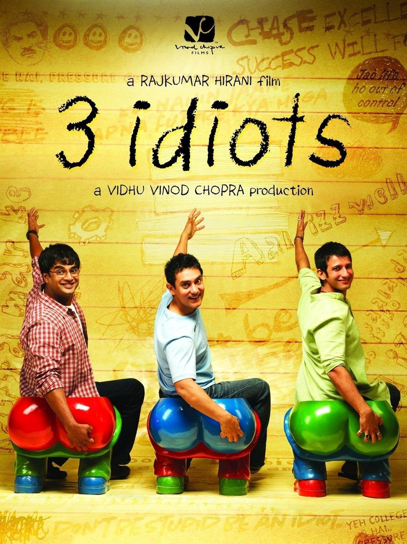 3 Idiots Poster #1