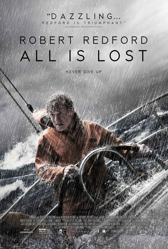 All Is Lost Poster #1