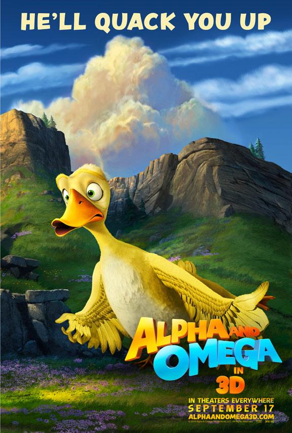 Alpha & Omega Poster #2