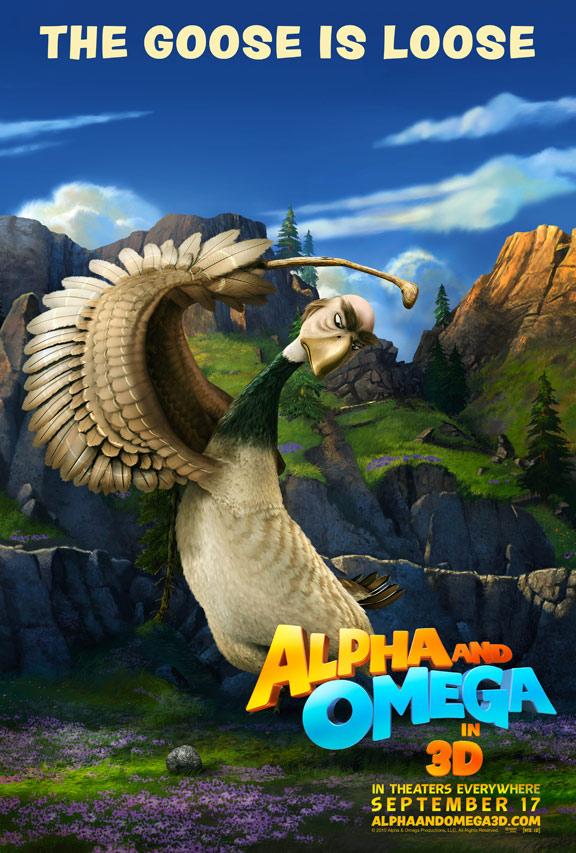 Alpha & Omega Poster #3