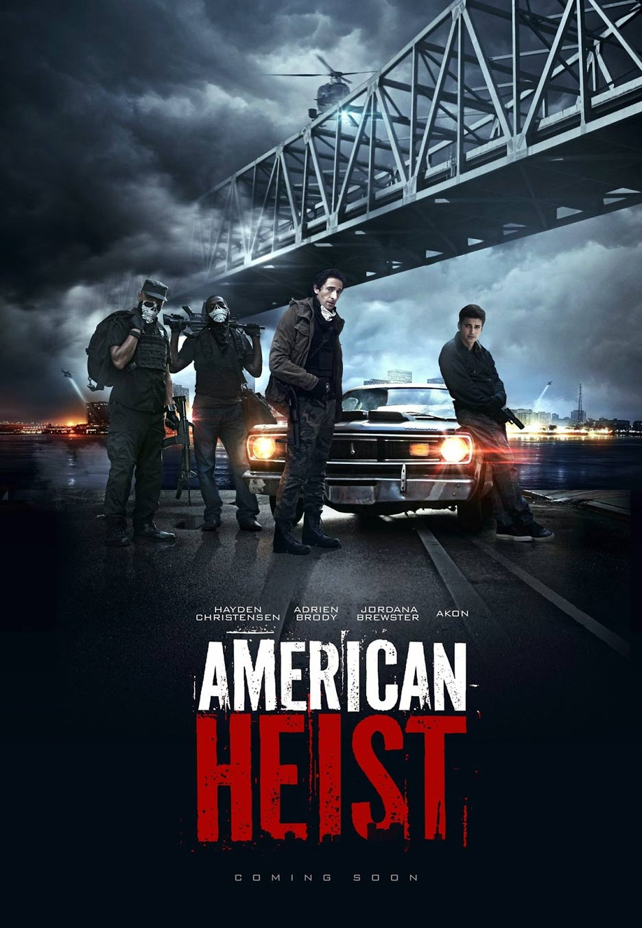 American Heist Poster #1