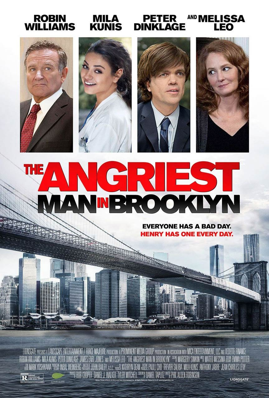 The Angriest Man in Brooklyn Poster #1