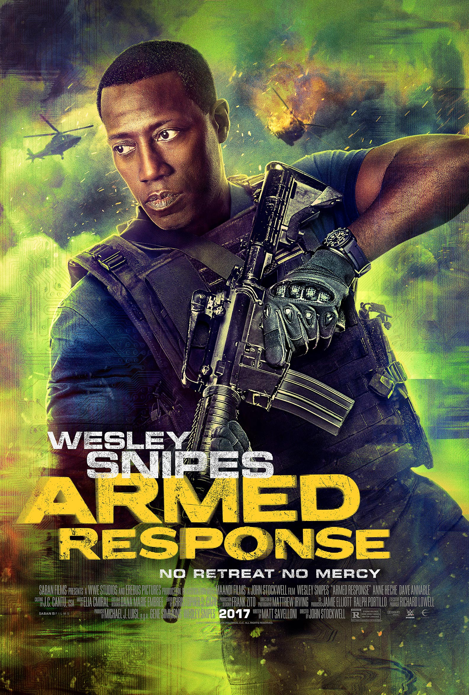 Armed Response Poster #1