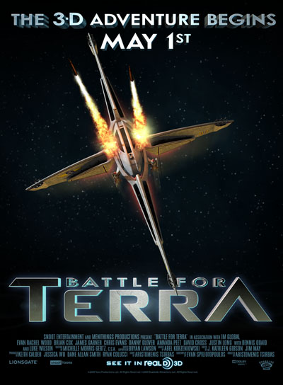 Battle for Terra Poster #1