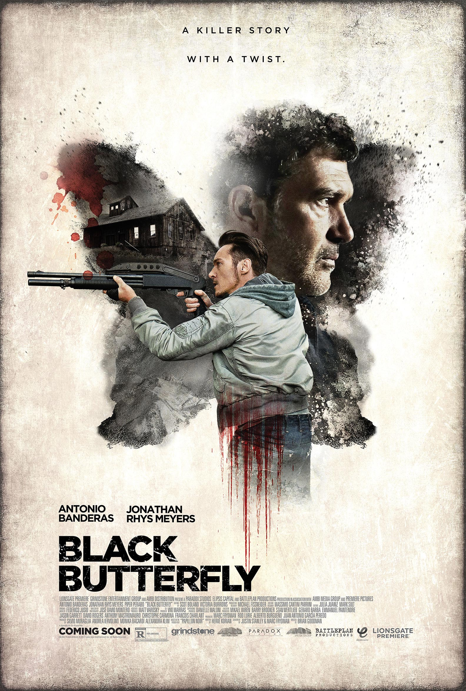Black Butterfly Poster #1