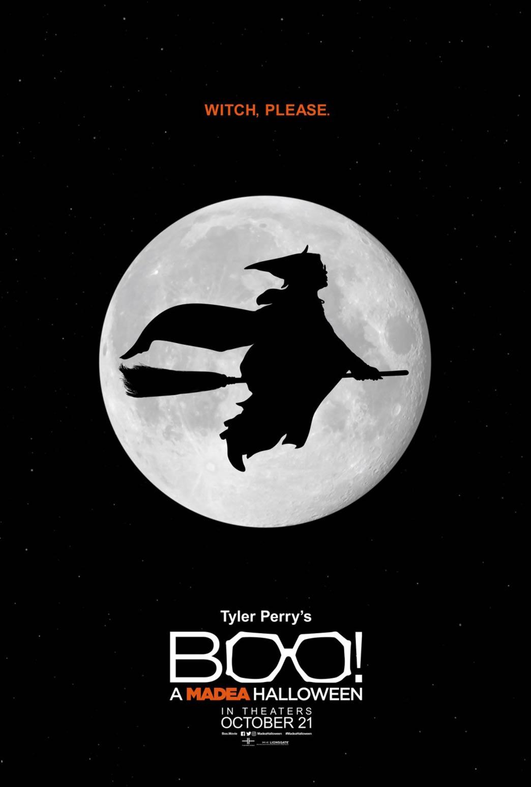 Boo! A Madea Halloween Poster #2