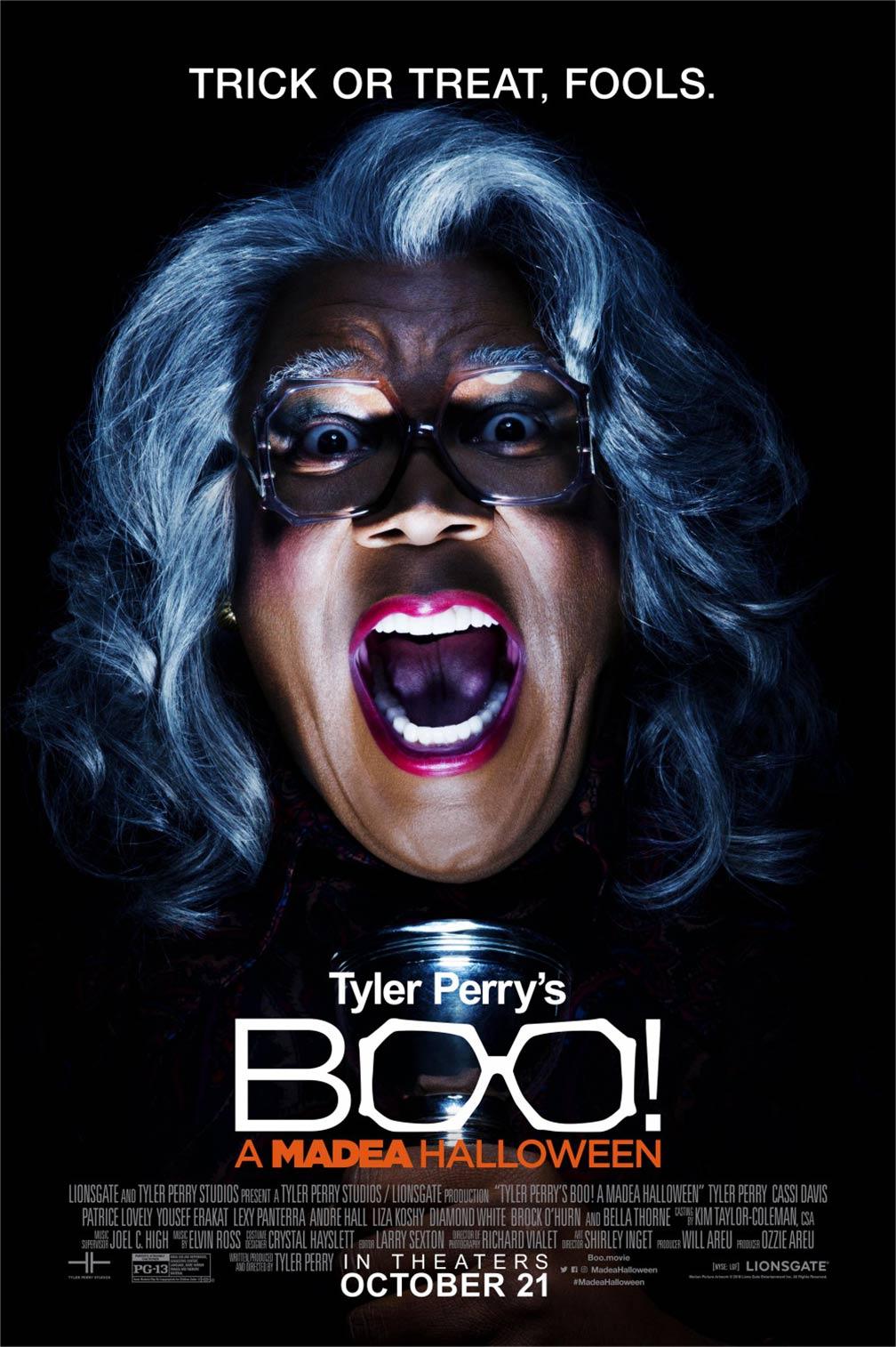 Boo! A Madea Halloween Poster #4