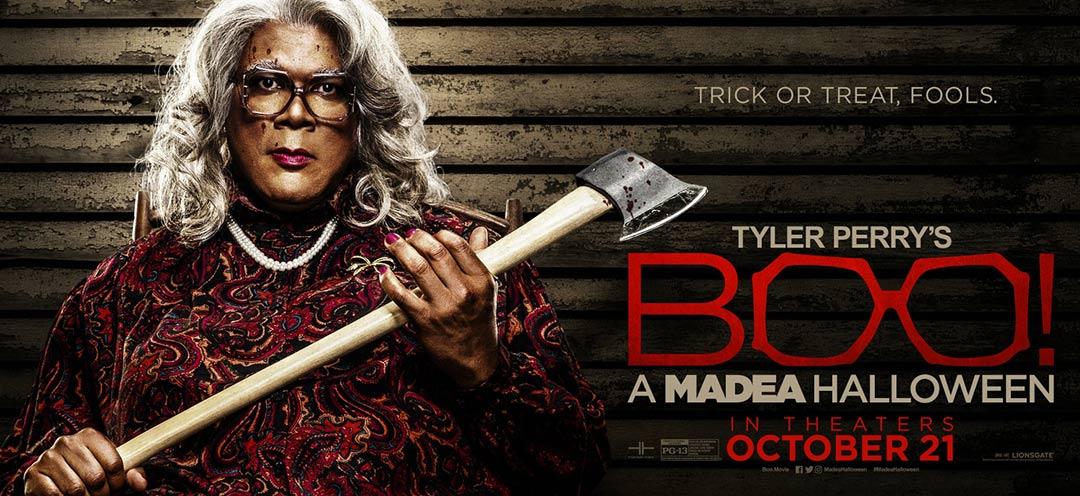 Boo! A Madea Halloween Poster #5