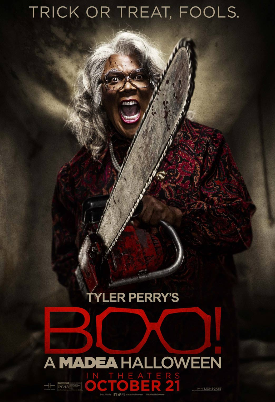 Boo! A Madea Halloween Poster #7