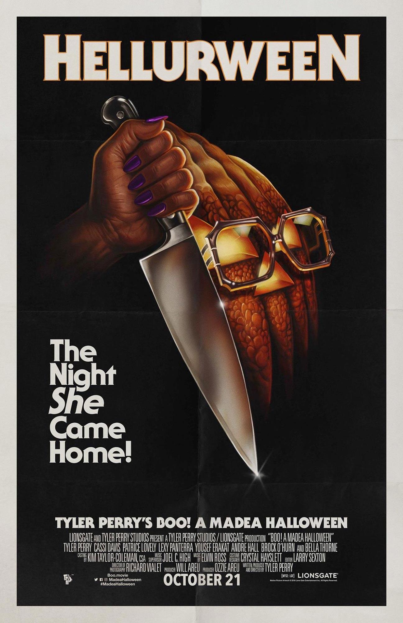 Boo! A Madea Halloween Poster #1