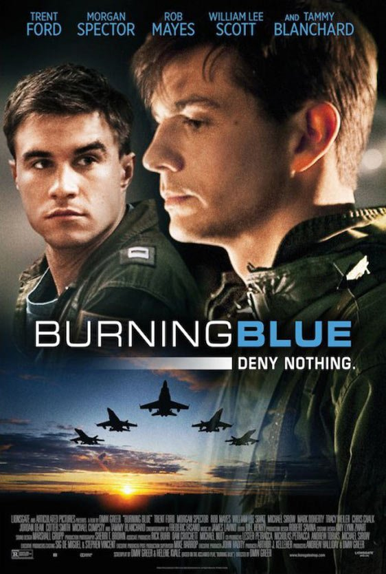 Burning Blue Poster #2