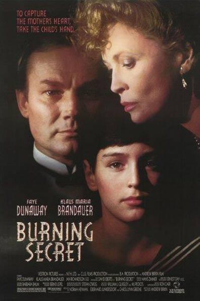 Burning Secret Poster #1