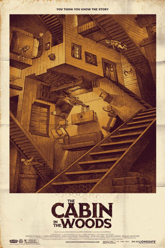 The Cabin in the Woods Poster #7