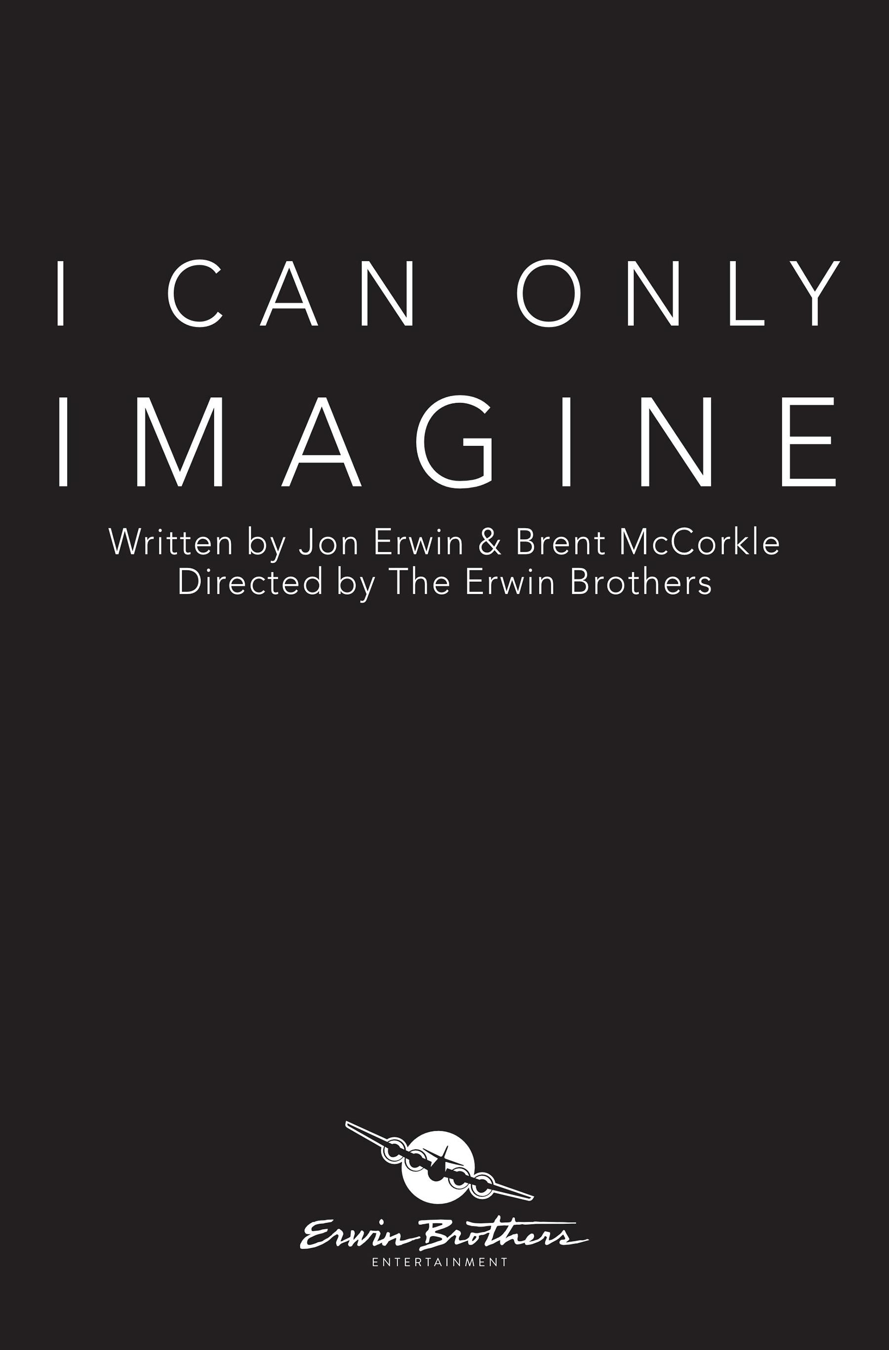 I Can Only Imagine Poster #1